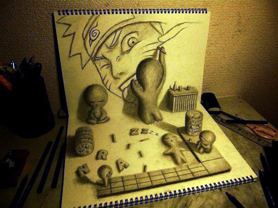 Optical Illusions: Stunning 3D Illustrations by Nagai Hideyuki