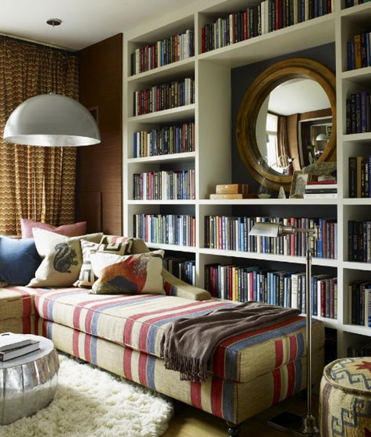 24 Beautiful And Cozy Home Library Ideas