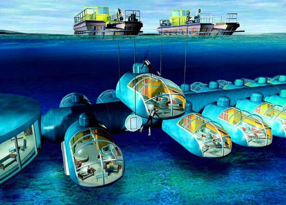 Spectacular Poseidon Undersea Resort in Fiji