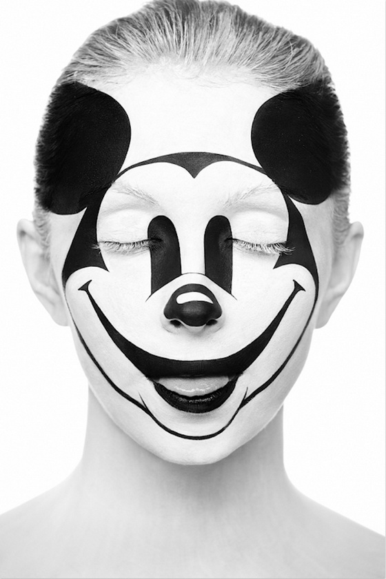 alexander khokhlov face weird beauty stunning mouse faces painting paint swan facepaint artist mask artwork