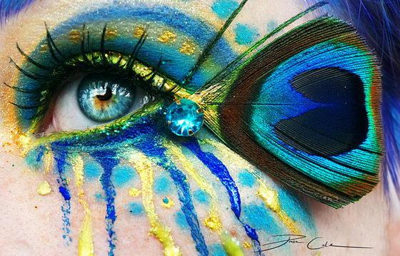Incredibly Beautiful Eye Make-up Art by Svenja Jödicke