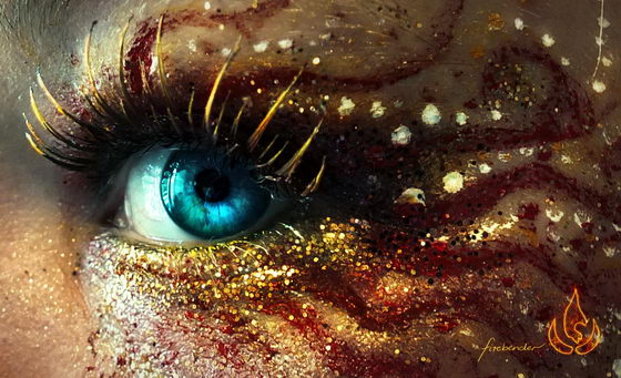 Incredibly Beautiful Eye Make-up Art by Svenja Jödicke