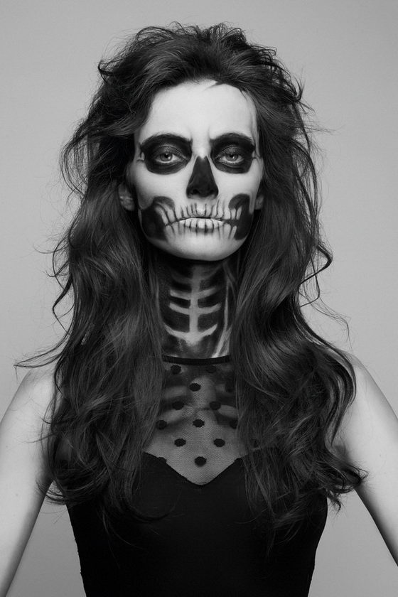 Pics Photos Skeleton Makeup