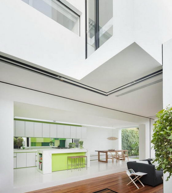 Shakin Stevens House: Modern Meets Victorian House in Green Tone