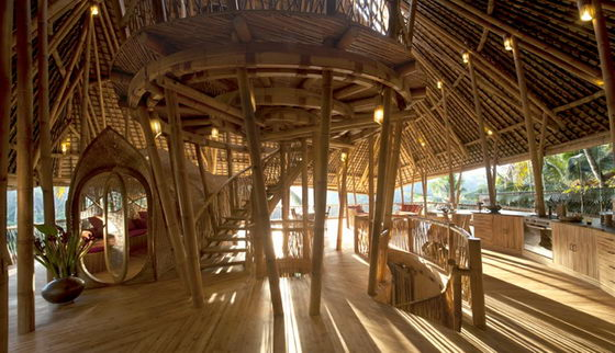 Bamboo House A Beautiful Green Village In Thailand