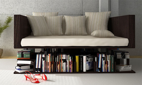 12 Playful and Unusual Bookcases