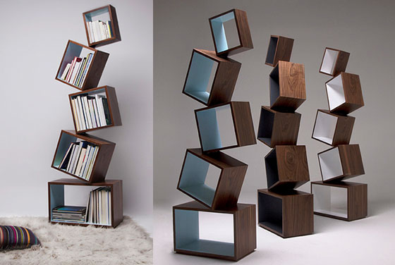 12 Playful And Unusual Bookcases Design Swan