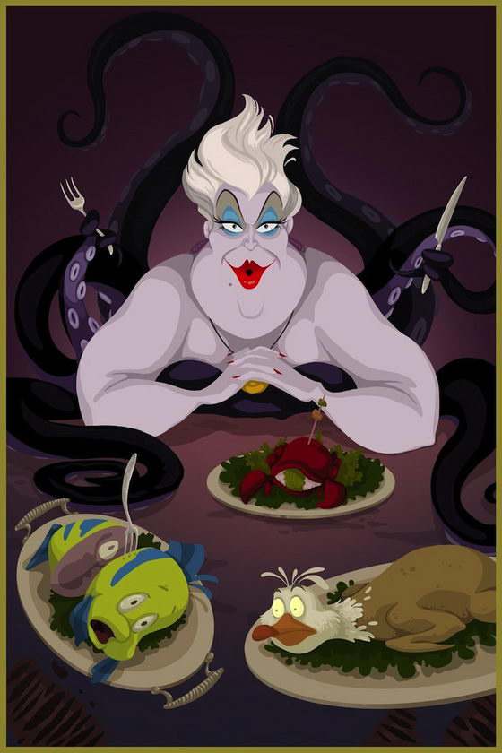If Disney Villains had won: a Different Happy Ending of Disney Movies
