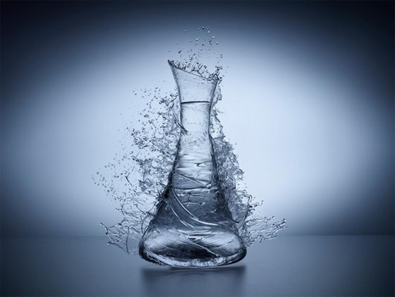 Stunning Liquid Glass Photograph by Jean Bérard Fotografía