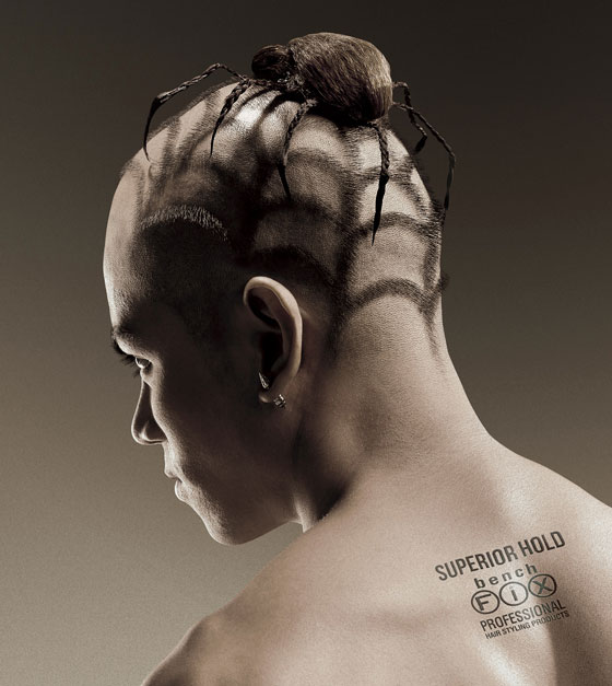 Spider or Gecko? Most Wildest Haircuts by Bench Fix