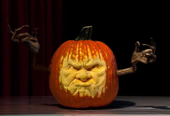 Smashing Pumpkin Carving from Villafane Studios