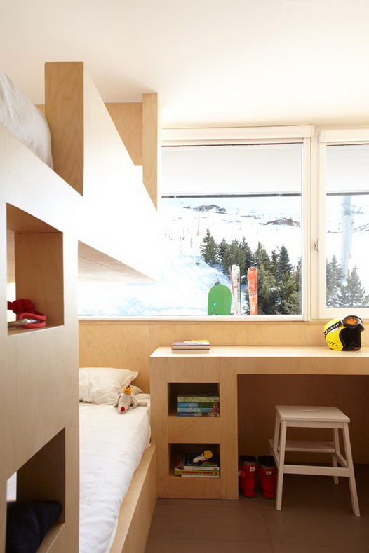 Ski Resort Redesign: 2 bathrooms and 8 beds in 55m2