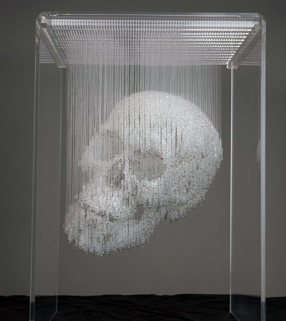 Stunning Skull Art in all Kinds of Forms