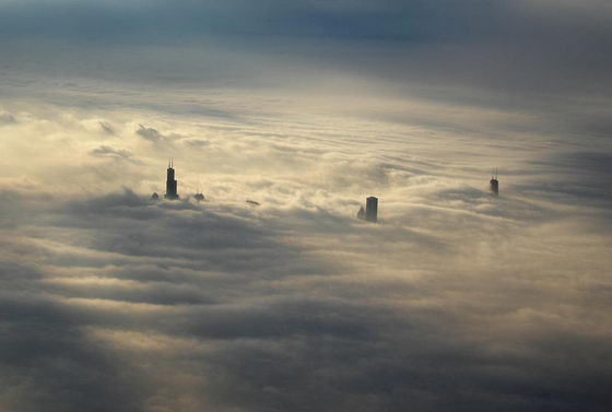 15 Amazing Above the Clouds Photography