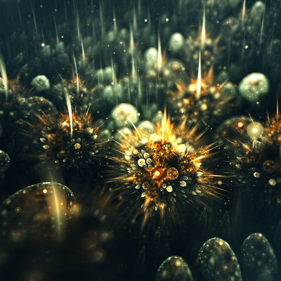 Alien Flower: Fascinating 3D Fractal Flowers by Chiara Biancheri