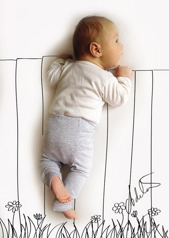 When My Baby Dreams: Whimsical Baby Napping Photos