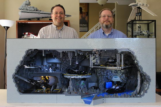 LEGO Batcave: Batman's Headquarter Build from over 20,000 LEGO parts