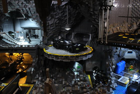 LEGO Batcave: Batman's Headquarter Build from over 20,000 LEGO parts