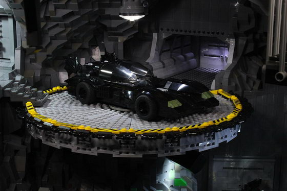 Lego Batcave Batman S Headquarter Build From Over 20 000