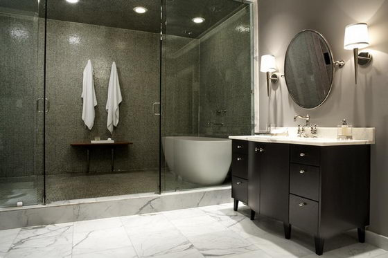 30 Beautiful and Modern Bathroom Designs – DesignSwan.