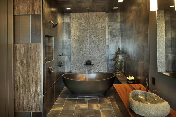 30 Beautiful and Modern Bathroom Designs