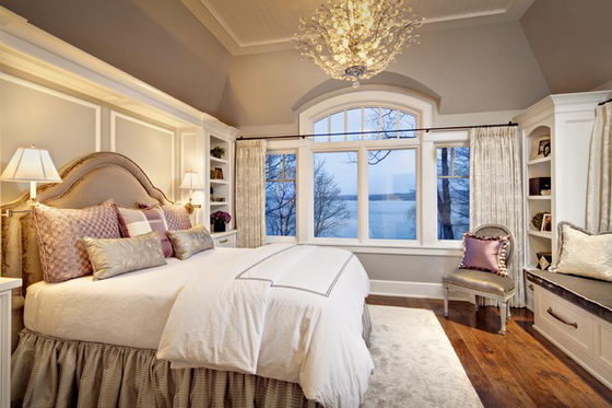 22 beautiful and elegant bedroom design ideas design swan Elegant master bedroom designs