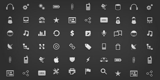 Friday Giveaway: 18 Free Minimal Icon Sets