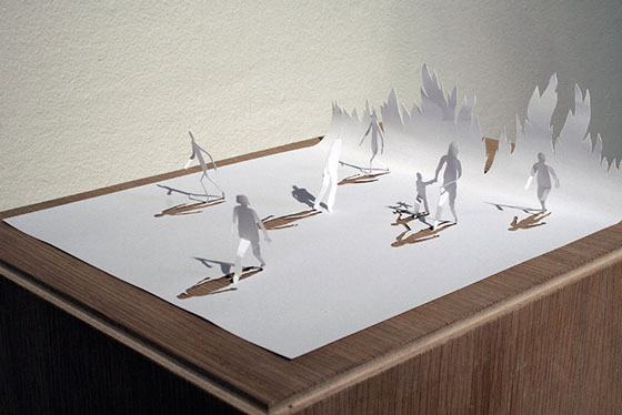 Incredible Paper Art by Peter Callesen