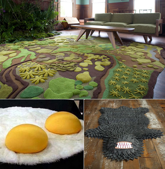 10 Cool Rug Designs For Playful Interiors Design Swan