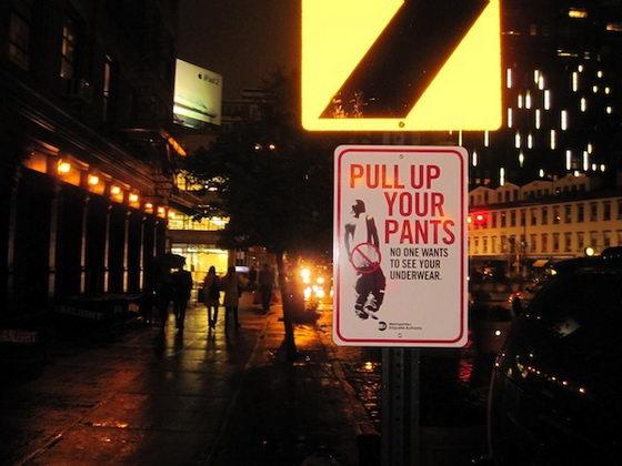 Funny Street Signs Establish Metropolitan Etiquette Authority