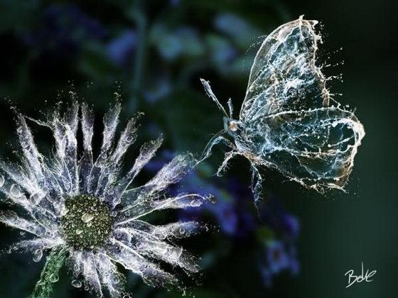 Stunning Digital Water Art by B-O-K-E