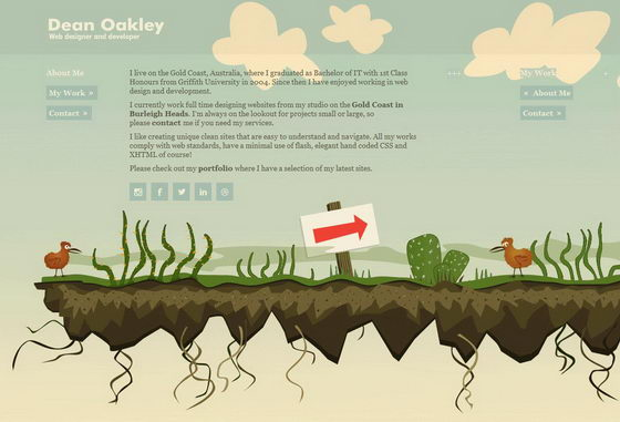 16 Awesome Websites with Illustrated Landscapes