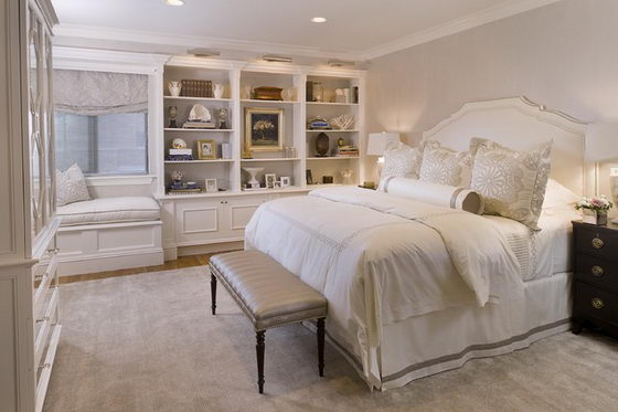 16 Beautiful and Elegant White Bedroom Furniture Ideas  Design Swan