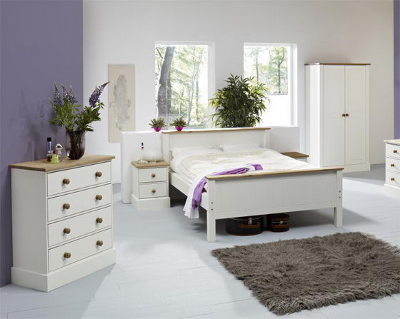 16 beautiful and elegant white bedroom furniture ideas for Bedroom ideas with white furniture