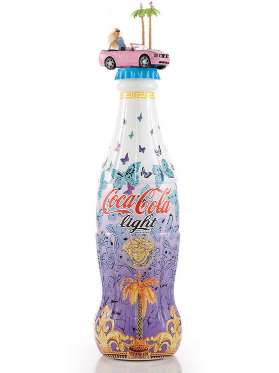 Tribute to Fashion: Coca Cola Light Bottle Redesign