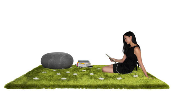Daisy Garden Interactive Rug: Bring the Outdoors Inside