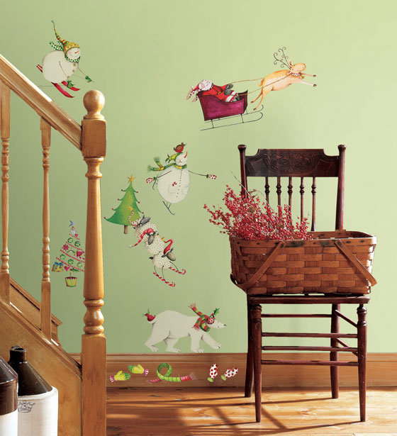 17 Beautiful Christmas Wall Decals for any Room