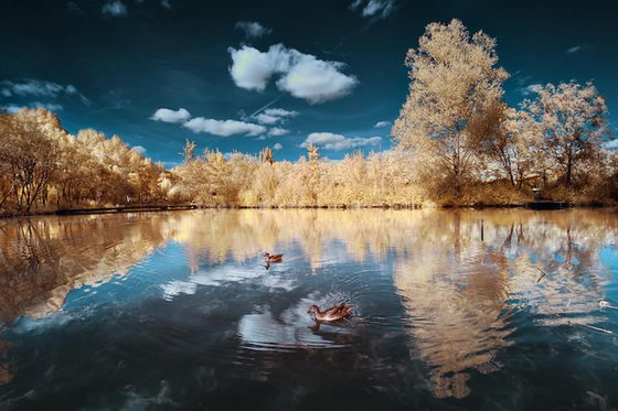 Magical Land: Breathtaking Infrared Landscapes Photography by David Keochkerian