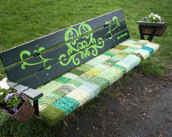 18 Awesome Yarn bombing Examples