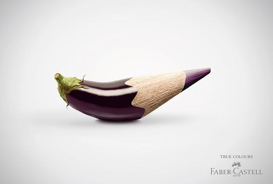 True Colors: Creative Ads for Color Pencil