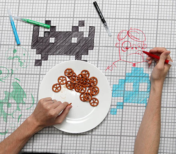 Create your Own Graphics: 8 Interesting Doodle Inspired Designs