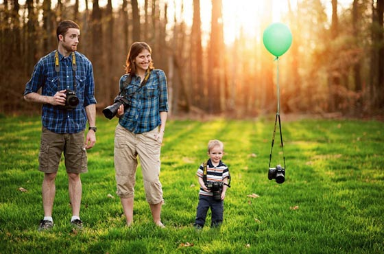 14 Creative Family Portraits Ideas