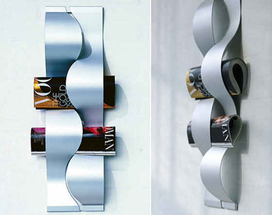 14 Cool And Modern Magazine Holders Design Swan