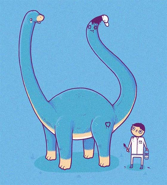 Creative and Whimsical Illustrations by Aaron Jay