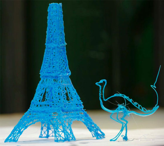 3D Doodler: a Pen can Draw in Air