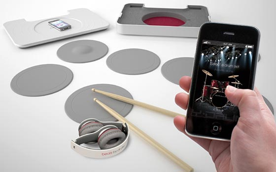 Y-Drum: Portable Bluetooth Drum System