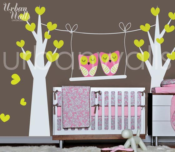 23 Cute Nursery & Kids Wall Decal Art