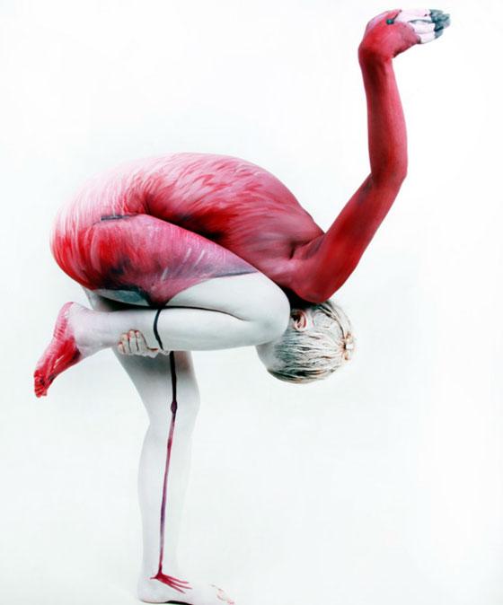 Beautiful Animal Body Painting by Gesine Marwedel