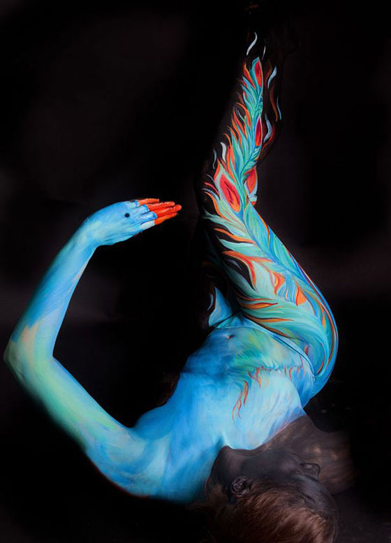 Beautiful Animal Body Painting by Gesine Marwedel
