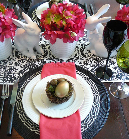 31 Beautiful Easter Table Decoration Ideas & 31 Beautiful Easter Table Decoration Ideas u2013 Design Swan